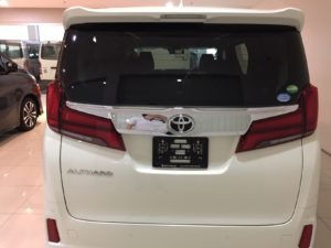 Toyota Alphard 2.5 SC -Package 7-Seater (A) full