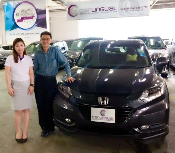 Carlingual Satisfied Black Honda Car Buyer