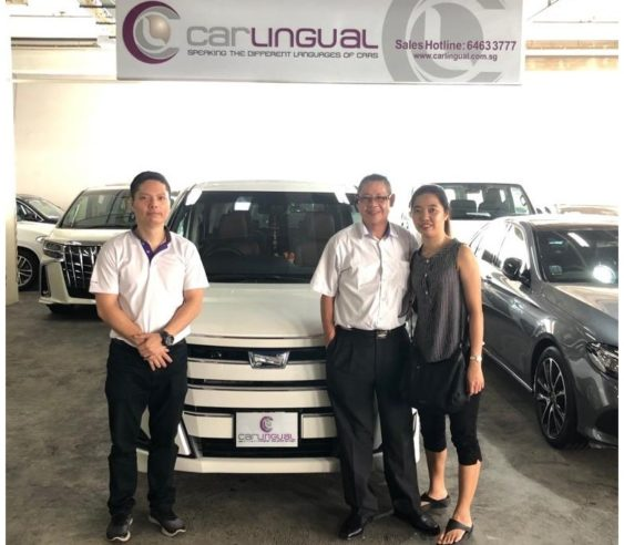 Carlingual Satisfied Toyota Noah Buyer