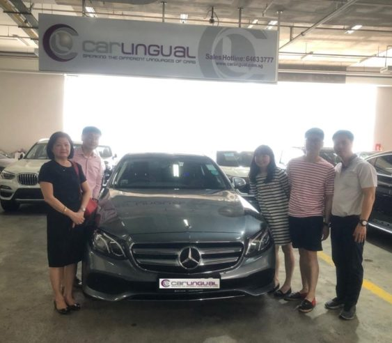 Carlingual Satisfied Mercedes-Benz Buyer