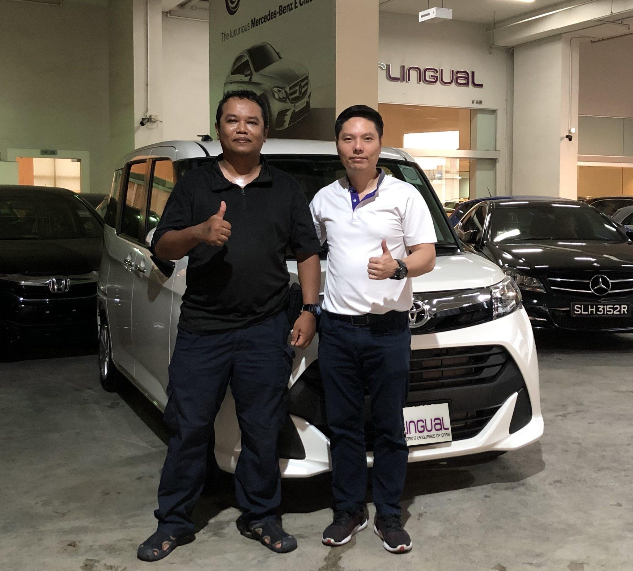 Carlingual Happy Toyota Car Buyer