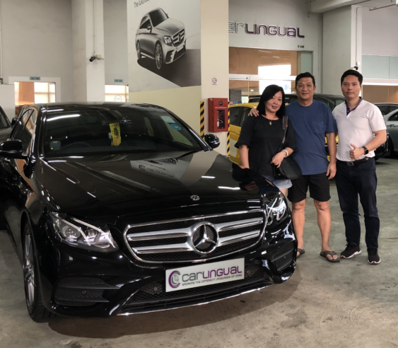 Black Mercedes-Benz | Carlingual Satisfied Buyer