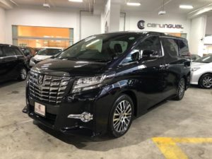 Toyota Alphard 2.5A SC Moonroof full