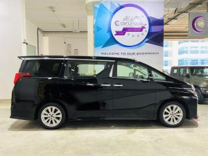Toyota Alphard 2.5A SA Moonroof full